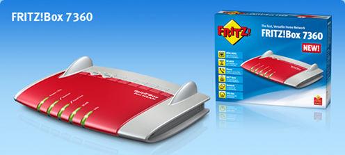 fritzbox met glasvezel en adsl van Kliksafe